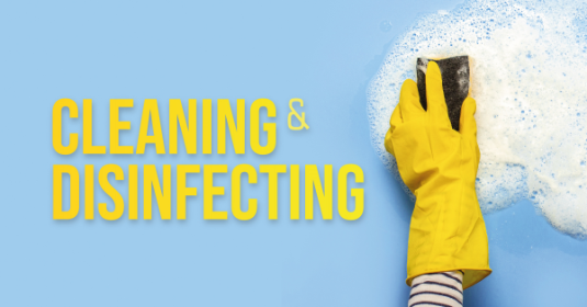Cleaning and Disinfecting Techniques for House and Work Environments